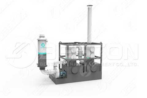 Continuous Tyre Pyrolysis Plant in India