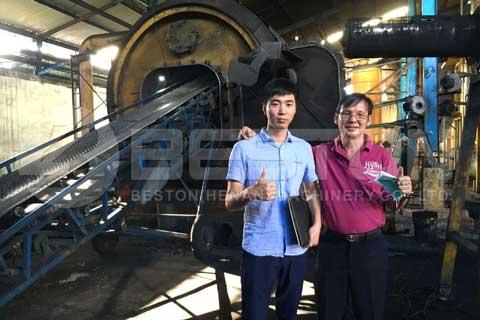 Scrap Tyre Pyrolysis Plant
