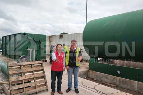 Tire Pyrolysis Plant Price