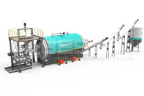 معدات الانحلال الحراري البلاستيكي