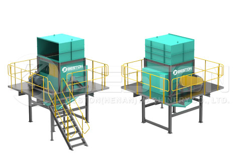 Bag Breaking Machine of Trash Sorting Machine