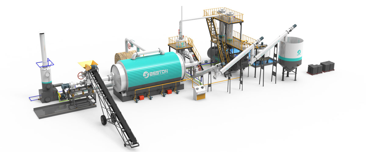 Continuous Pyrolysis Plant in India Banner