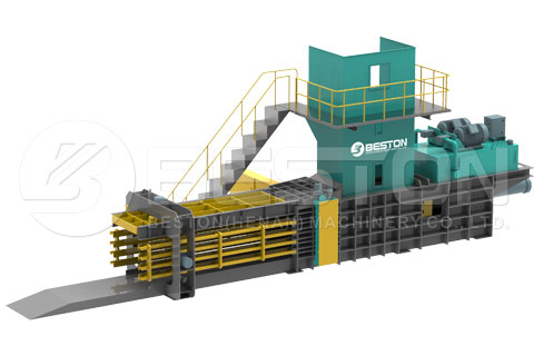 Hydraulic Packing Machine of Urban Solid Waste Management Project