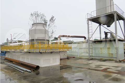 Fully Continusous Waste Tyre Pyrolysis Plant
