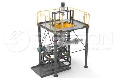 Continuous Tyre Pyrolysis Equipment