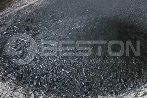 Charcoal from Beston Automatic Green Charcoal Machine