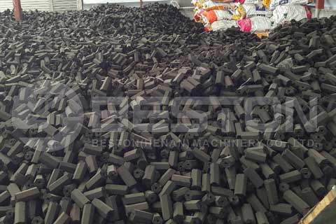 Coconut Shell Charcoal Briquette for barbecue BBQ