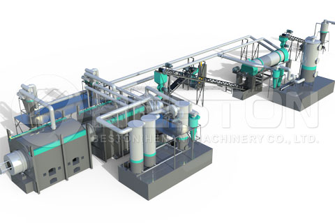 Coconut Shell Charcoal Making Machine Deisign