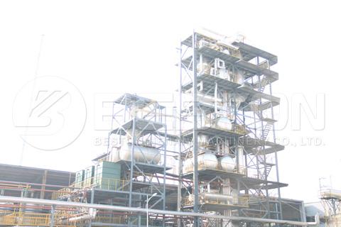Equipo de destilación continua de aceite usado en venta