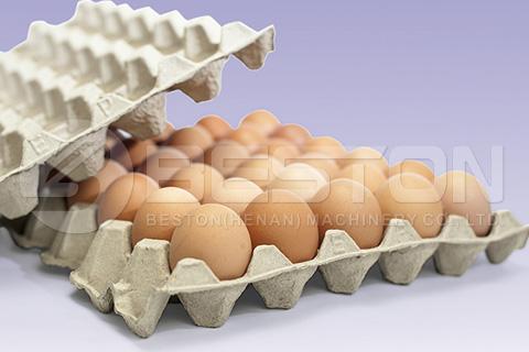 Egg Tray Made By Beston Machinery