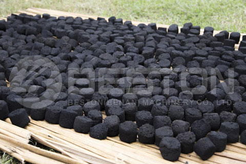 Making Charcoal from Bagasse Waste