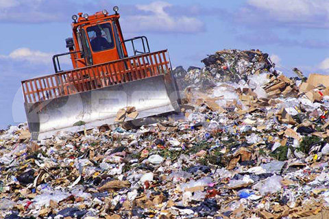 Municipal Solid Waste in Landfill