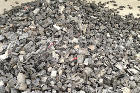 Rubber Chips from Tyre Shredder for Sale