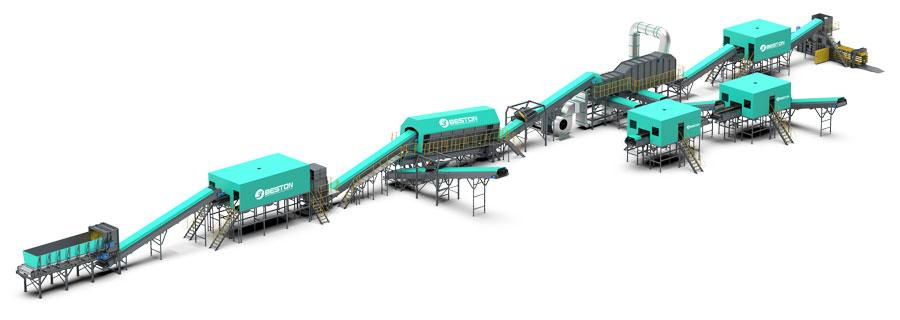 Solid Waste Treatment Plant Design