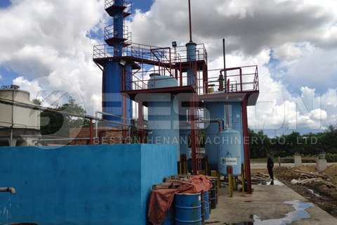 planta de procesamiento de petróleo crudo en dominica