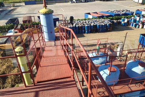 equipo de destilación al vacío de petróleo en dominica