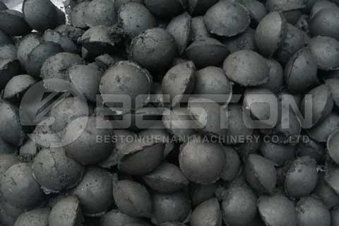 rice hull charcoal briquettes