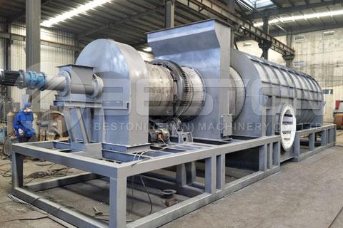 straw carbonization machine