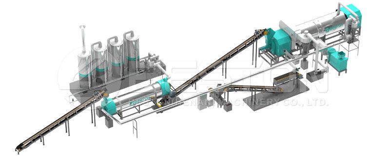 straw processing machine