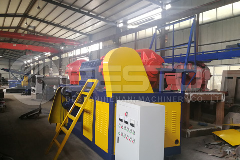 tyre shredding equipment