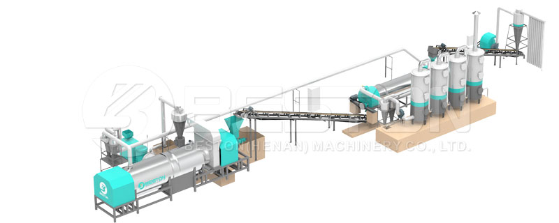 wood charcoal making machine for sale