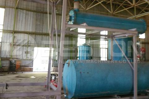 Waste Oil Distillation Plant in Ukraine