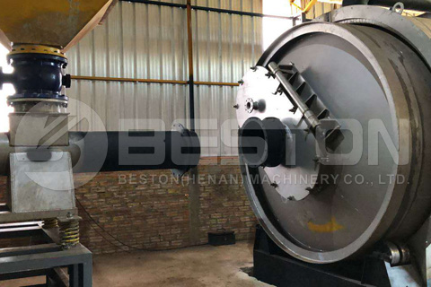 Waste Tyre Recycling Pyrolysis Equipment Installed in Paraguay