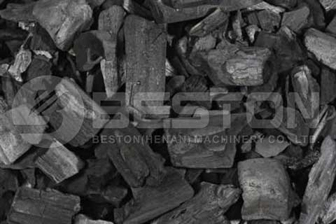 Wood Charcoal Made from Beston Wood Charcoal Making Machine
