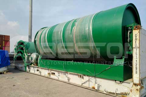 pyrolysis machine manufacturers