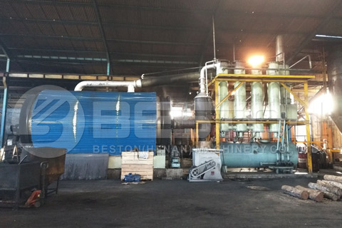 tyre pyrolysis plant manufacturers china
