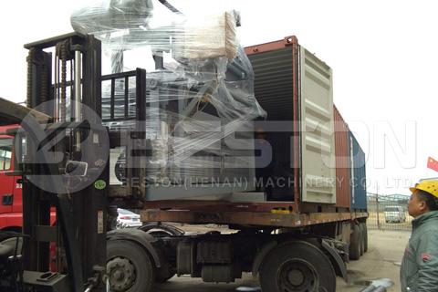 Pulp Molding Machine Shipped to Sudan