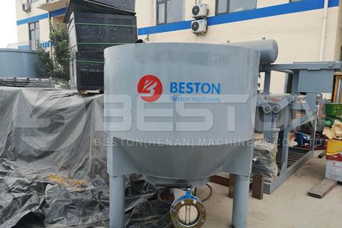 Se envía a Ghana la máquina de moldeo de pulpa BTF1-3