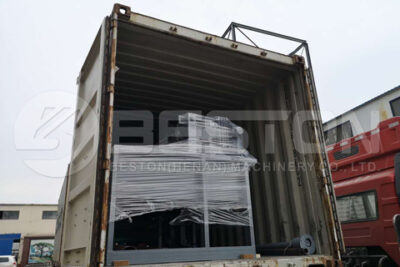 Beston BTF1-3 Pulp Molding Machine Shipped to Ghana