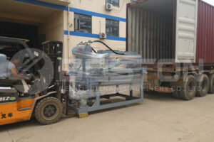 Beston BTF1-4 Pulp Molding Machine Shipped to Colombia
