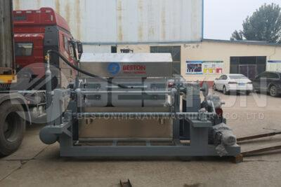 Beston BTF4-4 Egg Tray Making Machine Shipped to Indonesia