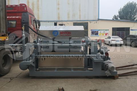 Beston BTF4-4 Egg Tray Making Machine Shipped to Indonesia