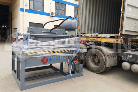 Pulp Molding Machine Shipped to Ghana