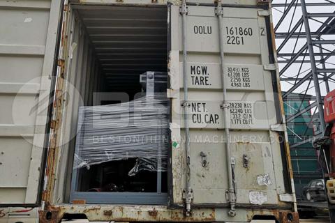 Máquina de moldeo de pulpa en Ghana