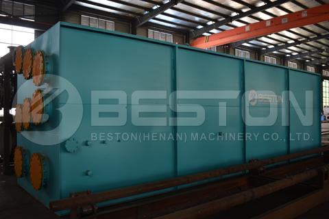 Máquina de pirólisis de neumáticos de desecho BLL-16 enviada a Indonesia