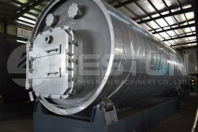 Beston آلة التحلل الحراري لإطارات النفايات BLL-16 يتم شحنها إلى إندونيسيا