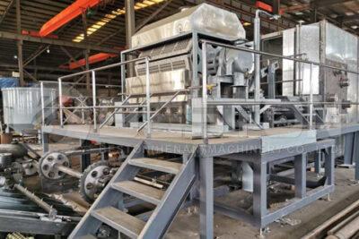 Beston BTF4-8 Egg Tray Making Machine Shipped to Russia