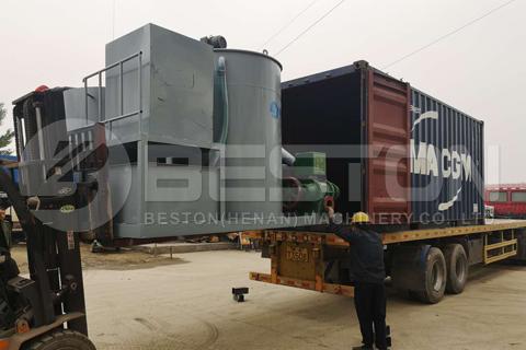 Beston Paper Pulp Making Machine Shipped to Algeria