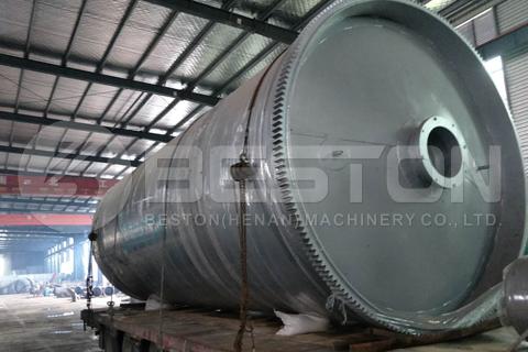 Máquina de pirólisis de neumáticos de desecho en Indonesia