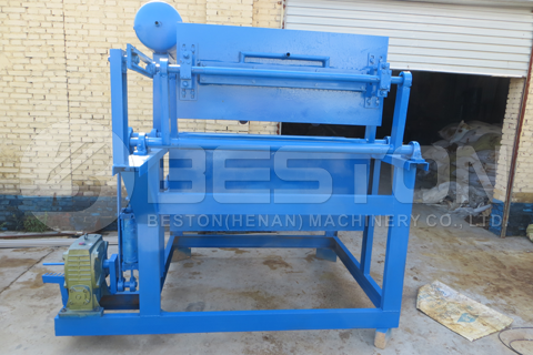 BFT-1-3 Manual Egg Tray Making Machine