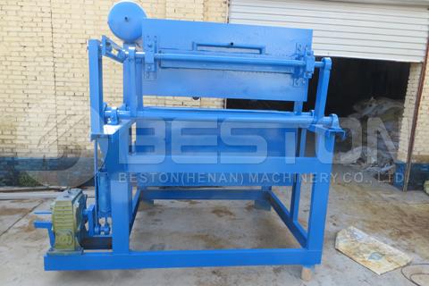 Máquina para fabricar bandejas de huevos manual BFT-1-3