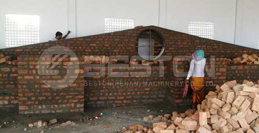 Brick Drying System Construction in India
