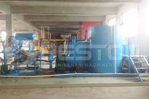 Integrated Pulping System in Customer's Construction Site