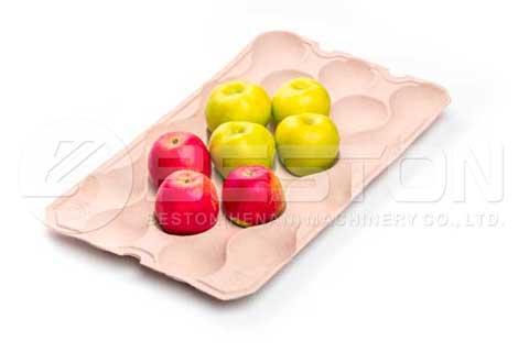 Bandeja de manzanas