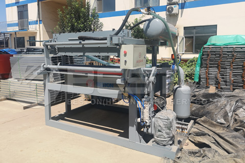 Beston Egg Tray Machine to the Philippines