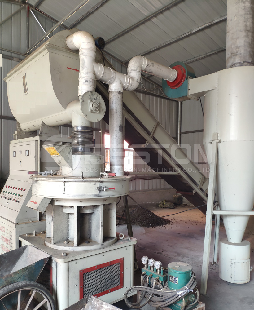 Beston Pellet Making Mill Machine